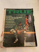 September 1969 True Magazine Joe Namath