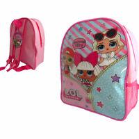 Childrens LOL Surprise Doll Backpack Rucksack L.O.L Girls Kids School Travel Bag