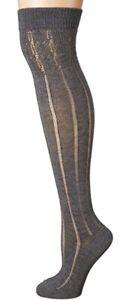 NWOT Falke Praire Over the Knee Grey Melange Size 8-9
