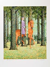 René Magritte - The Blank Signature (signed & numbered lithograph)