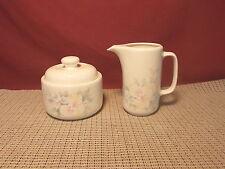 Noritake China Morning Melody 9158 Pattern Sugar & Creamer Set