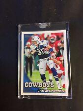 2010 Topps Vault Blank Back Jason Witten Dallas Cowboys Card RARE 1/1