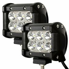 LED Arbeitsscheinwerfer 2X 18W Scheinwerfer Rückfahrscheinwerfer 12V 24V