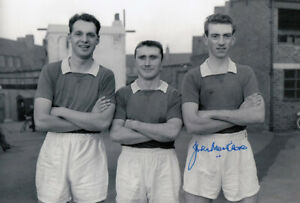 *LOW PRICE* HAND SIGNED CHELSEA 12x8 PHOTO 1957 : JOHN MORTIMORE
