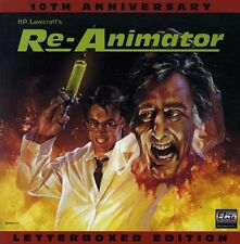 RE-ANIMATOR WS ELITE EDITION 10TH ANN.LASERDISC NTSC Jeffrey Combs, Bruce Abbott