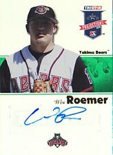 WES ROEMER 2008 TRISTAR PROJECTIONS #319 AUTO #18/50 BB993