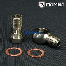 MAMBA Banjo Bolt Kit M16x1.5mm to 6AN Turbo Water / Coolant Garrett TB03 T3
