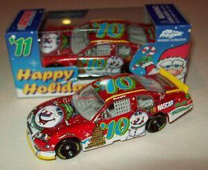 Sam Bass 2010 Christmas Holiday Car Frosty Snowman #10 NASCAR Diecast