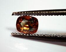 0.30ct hibonite GIA Zertifikat Cushion Cut Gemstone. einer der weltweit seltenste Juwel Typen