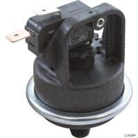 """Pressure Switch 4010P 25A Tecmark 1/8""""mpt, SPNO 1-11 PSI Plastic"""