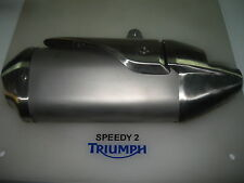 TRIUMPH SPEED TRIPLE /R RIGHT HAND EXHAUST 2011 2012 P/N T2207352