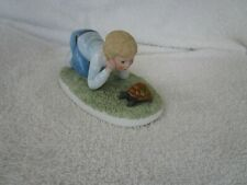 """Romans Francis Hook """"Finish Line """" From A Child'S World 1999 Figurine ~Lovely !"""