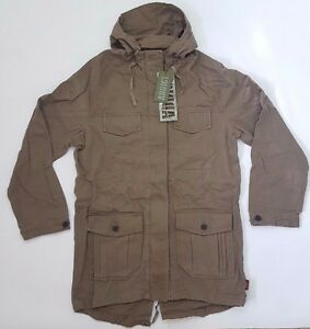 Addict Women's Unity Parka in Taupe. Brand New! ---- Was £75