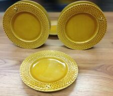 William Sonoma Honeycomb Salad Plates (3) EUC Italy