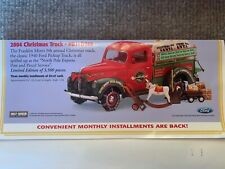 2004 Franklin Mint Precision Models Limited Edition Christmas Truck Never Opened