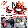 2M 1000AMP Car Pickup Lead Battery Jump Booster Cable Start Emergency Jumper Kit