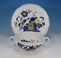 "Spode ""Blue Bird"" Suppentasse & Untertasse"
