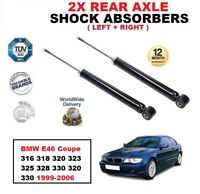 Arrière Amortisseurs Set pour BMW E46 Coupé 316 318 320 323 325 328 330 320 330