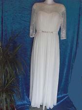 Lautinel -Super schönes -   Braut-/Abendkleid mit Stola - Gr. 40 - Farbe: creme