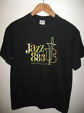 KSDS Jazz 88.3 San Diego California USA City College Blues FM Radio T Shirt Med