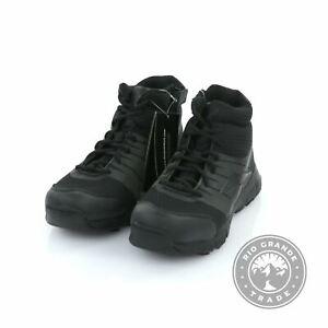 NEW Reebok RB4507 Men's Dauntless Side Zip Work Boots in Black - 10 US