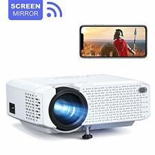 Crosstour WiFi Projector, Full 1080P HD Home Cinema Projector