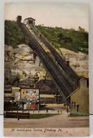 Pittsburgh Pa Mt Washington Incline, Pittsburg Pa Walkers Soap 1906 Postcard D17