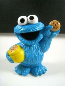 "2011 Hasbro Playskool Sesame Street Cookie Monster Figure #32283 Cake Topper 3"""