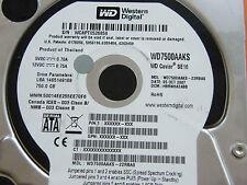 750 GB Western Digital WD7500AAKS-22RBA0 / HBRNHA2ABB / 2060-701474-002 REV A