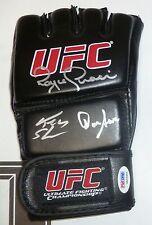 Royce Gracie Dan Severn Ken Shamrock Signed UFC Glove PSA/DNA COA 1 2 3 4 5 6 9