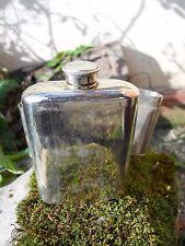 Ancien flasque chromé militaire médecine chasse ...