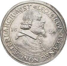 Lanz Habsburg Austria Tirol Leopoldo táleros 1620 Hall plata ± rrw2314