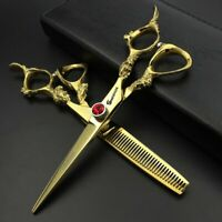 Professional Hairdressing Scissors Beauty Salon Hair Dressers Shears 6""