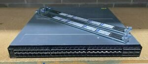 Dell S5148F-ON 48-Port 25GbE SFP28 + 6-Port x QSFP28 Switch w/ Dual AC PSU+Rails