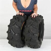 25x8-12 KENDA EXECUTIONER K538 FRONT REAR ATV UTV TIRES (SET OF 2) 25-8-12 25x8