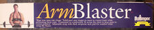 Bollinger Arm Blaster Bombe Barbell Bar Weight Lifting Straps Training-NIB