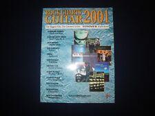 ROCK CHARTS GUITAR 2001 - WARNER BROS. PUBLICATIONS GFM0113 - MUSIC BOOK