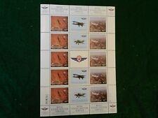 1997 *Australia Flying Doctor S/S - Plate #1 & #2* Mnh, Vf, Og.