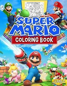 Super Mario Coloring Book by Kirsten Bateman