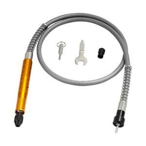 3.175mm Flexible Flex Shaft Adapter Attachment Power Drill for Dremel Grinder US