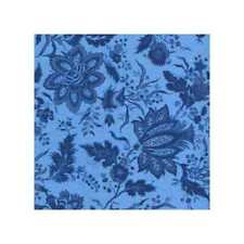 03383 Fancy Floral Royal - Cotton Quarter Yard