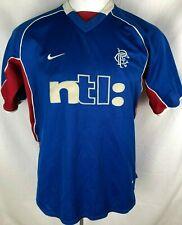 Rangers Football Shirt 2001-2002 Home (Excellent) L Soccer Jersey Top