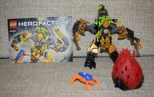 Lego Hero Factory Rocka Crawler with instructions 44023 (Invasion 2014)