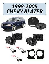 Fits Chevrolet Blazer 1998-2005 Factory Speaker Upgrade Combo Kit, PIONEER