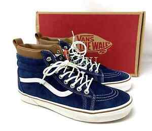 VANS SK8-HI MTE Dress Blues Suede Men's All Sizes Sneakers VN0A33TXRIY