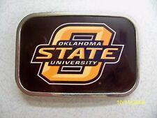 Oklahoma State University Cowboys NCAA college football sports belt buckle NEW!