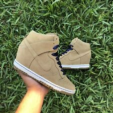 Size 7.5 WMNS - Nike Dunk Sky High Essential Desert Camo