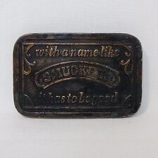 SMUCKERS BELT BUCKLE