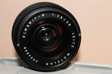 Leica R 28 mm 2,8  à 3 cames + bague Canon EOS