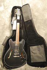 Framus Mayfield Pro Electric Guitar NEW 335 Black Bag